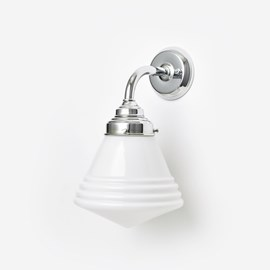 Wall Lamp Luxurious School Small Curve Chrome