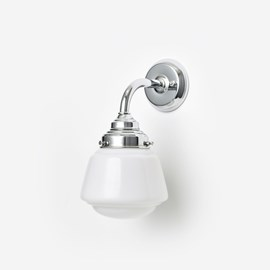 Wall lamp High Button Curve Chrome