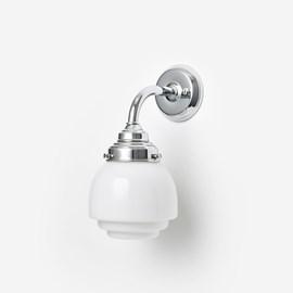 Wall lamp Gispen Vlak Curve Chrome