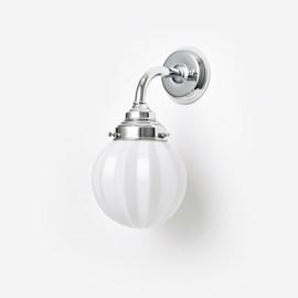 Wall lamp Carambola Curve Chrome