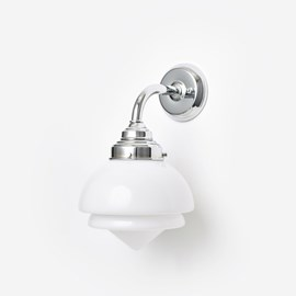 Wall lamp Small Pointy Curve Chrome