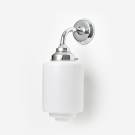 Wall lamp Getrapte Cilinder Curve Chrome
